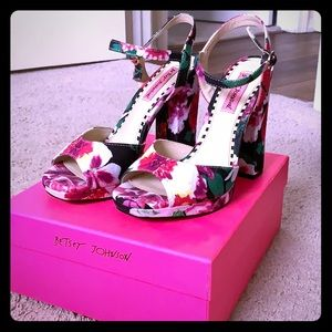 Betsey Johnson Heels!!
